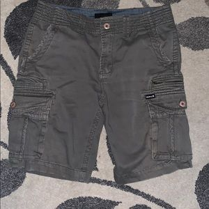 Hurley men's cargo shorts